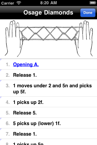 Figure detail shows steps in scrollable table